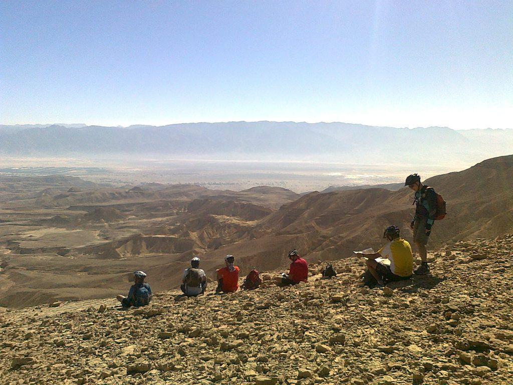 on the edge of Arava near Eilat